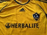 Classic Football Shirts | 2007 Beckham LA Galaxy Old Vintage Soccer Jerseys